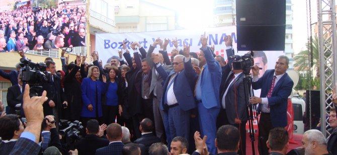 Başkan Adayları Anamur'da