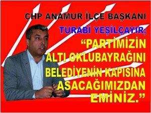 ANAMUR'A VE PARTİMİZE HAYIRLI OLSUN..