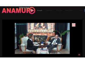 DURMUŞ DENİZ Anamur Halkına ANAMUR TV'den Seslendi