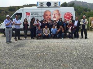 CHP Anamur İlçe Örgütü, köy gezilerine hız verdi