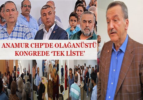 CHP TEK LİSTE