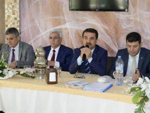 Mersin Büyükşehir Belediyesi, Silifkeli muhtarlarla buluştu