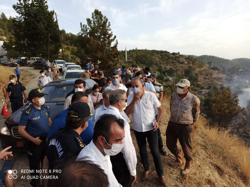 CHP İLÇE BAŞKANI DURMUŞ DENİZ UCARI'DA