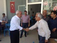 CHP'li Baysan, Mut'un köylerini gezdi