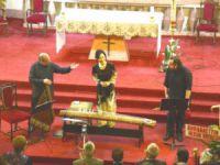 Mersin'de kilisede konser