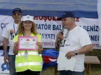 Amatör Olta Balıkçılığı Turnuvası yapıldı