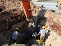Mezitli'de içme suyuna ilave çalışmaları tamamlandı