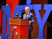 Mersin İdman Yurdu, Olağanüstü Genel Kurulu'nu yaptı, tesis müjdesini Vali Çakacak verdi
