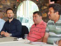 MHP'li Ali Yücelen, basınla buluştu