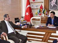 Hidayet Kılınç, Başkan Türe'yi ziyaret etti