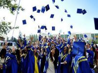 Silifke'de mezuniyet coşkusu