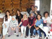 CHP'li Baysan köy ziyaretini sürdürüyor