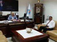 Can, Başkan Kocamaz'ı ziyaret etti