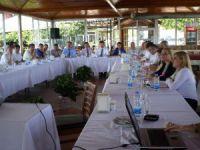 Sağlık idarecileri Çamlıyayla'da toplandı