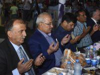 Mersin Büyükşehir Belediyesi'nin iftar sofrası Bozyazı'da kuruldu
