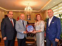 Irak'ın Gaziantep Başkonsolosu Al Bazzaz, Vali Çakacak'ı ziyaret etti