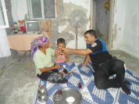 Polis Memuru Muhammed Temizkan'dan örnek davranış