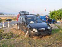 Anamur Ören Kavşağı'nda kaza: 4 yaralı