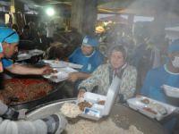 Çamlıyayla'da iftar bereketi yaşandı