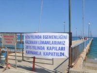 """Anamur'da """"İskele""""siz Denizcilik ve Kabotaj Bayramı, tekne sahiplerine eylem yaptırdı"""