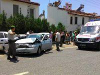 Bozyazı'da kaza: 3 yaralı