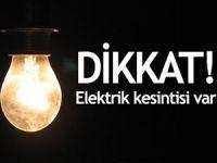 Mersin'de 5 ilçede elektrik kesintisi olacak
