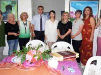 Anamurlu ressamnlar, Ressam Zekiye Karamanoğlu'nun 15. sanat yılında buluştular