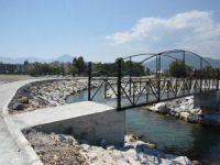 Anamur'da gezi tekneleri köprüsü hizmete girdi