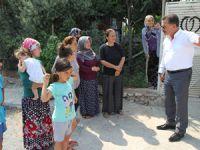 Başkan Tuna, çevre düzenlemesi çalışmalarını inceledi