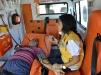 Mersin Büyükşehir Belediyesi'nden hasta nakil hizmeti