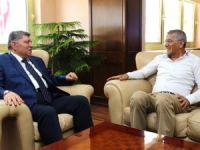 Başkan Tarhan'dan Mersin Emniyet Müdürü'ne ziyaret