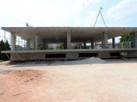 Fitness salonu inşaatı devam ediyor