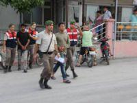 Mut'ta jandarma kablo hırsızlarına göz açtırmıyor