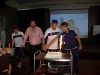 MİY'li futbolcu Loret Sadiku'ya doğum günü sürprizi