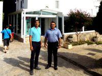 ÇUKTOB Başkanı Demir, Olbios Marina Resort Hotel Genel Müdürü Özcan'la Mersin turizmini konuştu