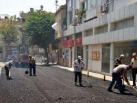 Akdeniz'de teknik hizmet birimleri kentin dört bir yanında çalışıyor