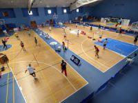 Veteranlar Balkan Badminton Şampiyonası Mersin'de başladı