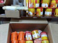 Mersin'de terör olaylarında kullanılan malzemeler ele geçirildi