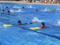Yüzme kursu ikinci dönem eğitimine 750 öğrenci katıldı