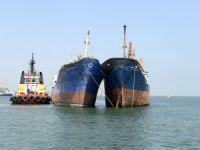 Mersin Büyükşehir Belediyesi Denizcilik Dairesi Başkanlığı, 2 kuru yük gemisinin batmasını engelledi