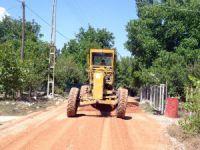 Erdemli Belediyesi, Avgadı Yaylası yolları asfaltlanıyor