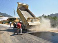 Anamur'da asfalt atağı