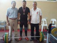 Tarsuslu Halterci Murat Yazlık, Türkiye Şampiyonu oldu