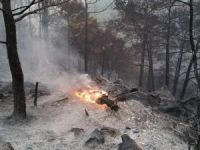 Anamur'daki yangın hâlâ kontrol altına alınamadı, söndürme çalışmaları sürüyor