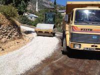 Gülnar Aygörmez yolları asfaltlandı