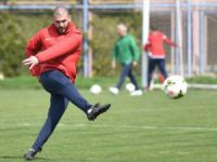 MİY'li futbolcu Berkan Afşarlı, yeşil sahalara geri döndü