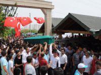 Erdemli'de Dağlıca protestosunda vurulan Bahadırhan Okçu, toprağa verildi