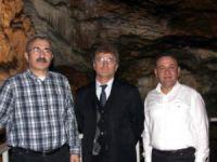 Aynalıgöl Mağarası ziyaretçilerin gözdesi oldu