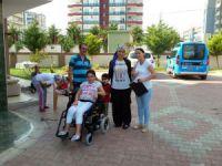 Mersin Büyükşehir Belediyesi'nin engellilere desteği sürüyor
