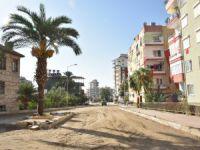 Anamur şehir merkezinde sıcak asfalt çalışması hazırlıkları başladı